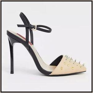 London Rebel Stud Stiletto Heels